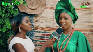 Miss Veronica on Gospel Vibes Nigeria@59