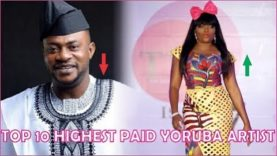 Top 10 Yoruba highest paid Movies Artist  2019