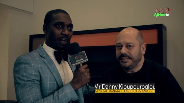 Celebrity Hangout with GM of Eko Hotels and Suites